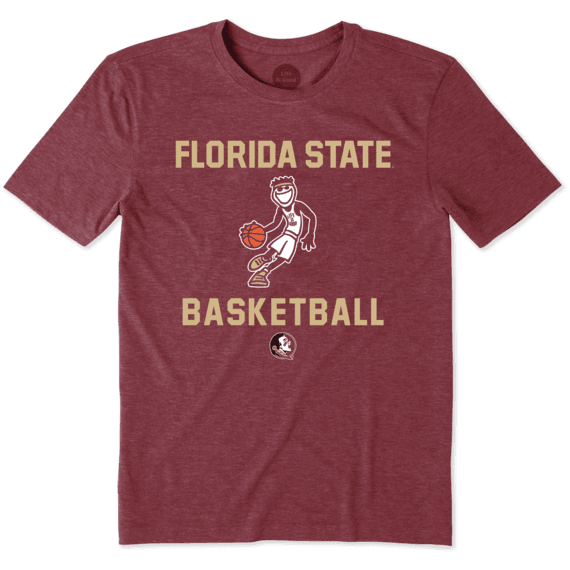 Men's Florida State Basketball Jake Cool Tee