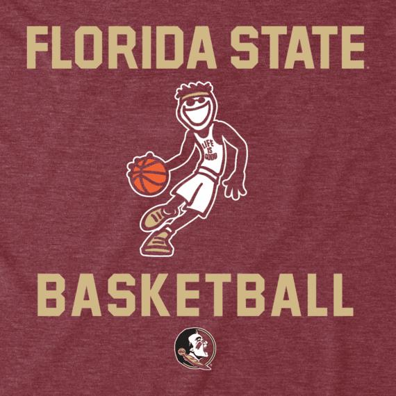 Men's Florida State Basketball Jake Cool Tee