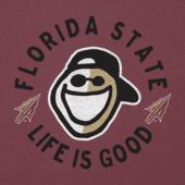 Men's Florida State Face Paint Jake Cool Tee