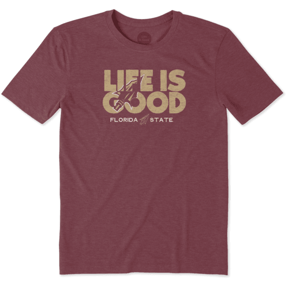 Men's Florida State Life is Good Cool Tee