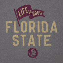 Men's Florida State Pennant Long Sleeve Cool Tee