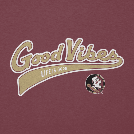 Men's Florida State Seminoles Good Vibes Tailwhip Cool Tee