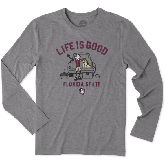 Men's Florida State Tailgate Jake Long Sleeve Cool Tee