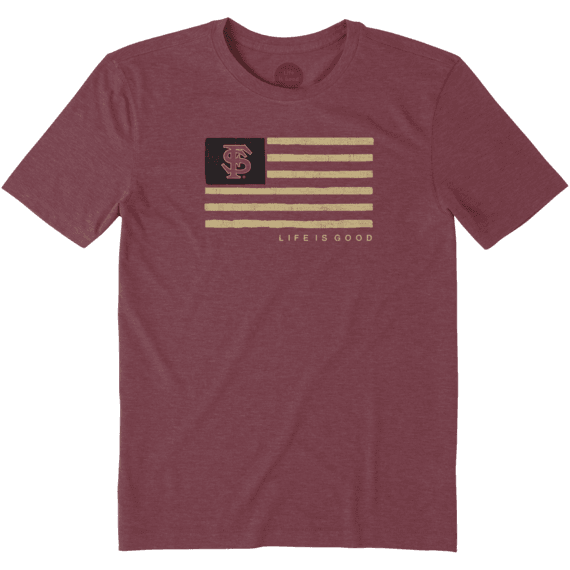 Men's Florida State Team Flag Cool Tee