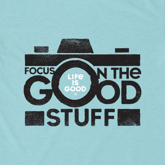 Men's Focus on the Good Camera Cool Tee