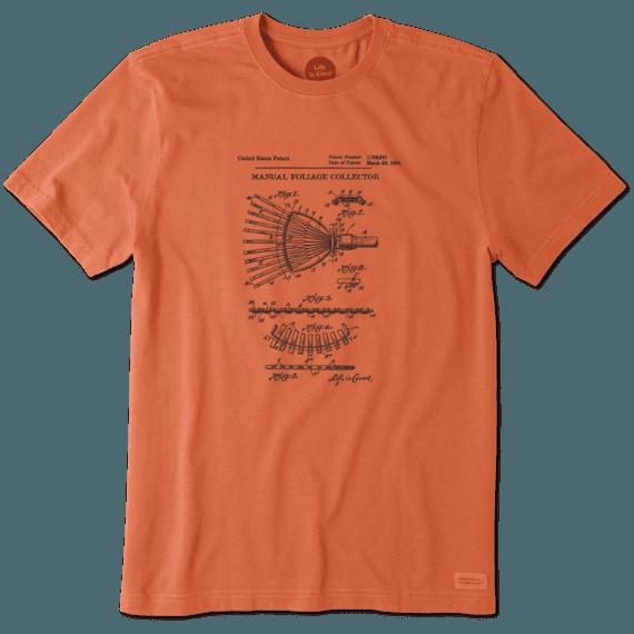 Men's Foliage Collector Blueprint Crusher Tee