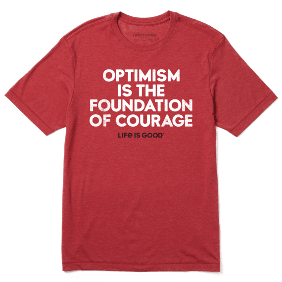Men's Foundation of Courage Cool Tee
