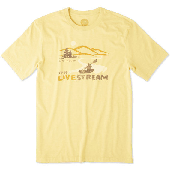 Men's Free Live Stream Cool Tee
