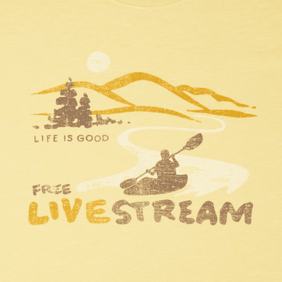 Men's Free Live Stream Cool Tee