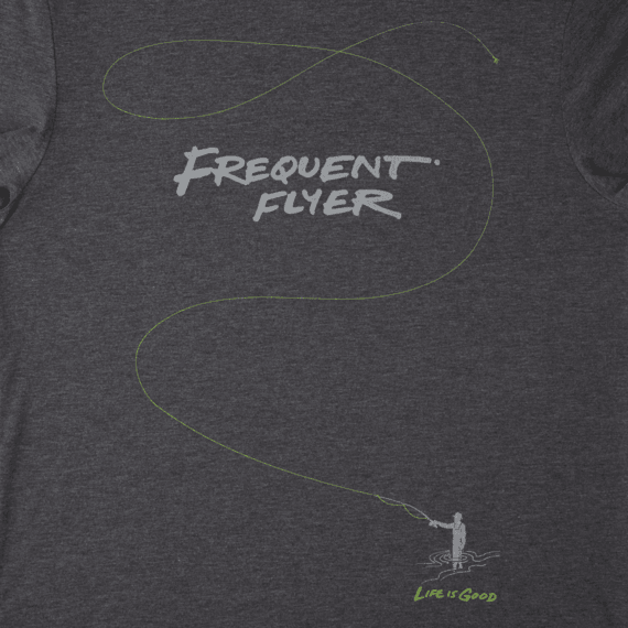 Men's Frequent Flyer Fish Cool Tee