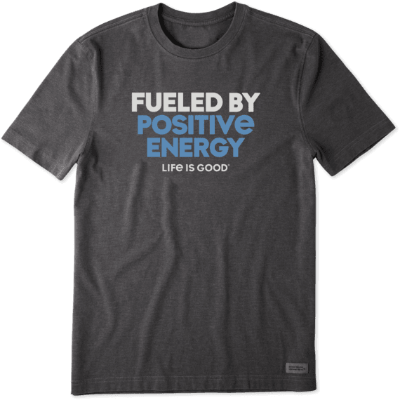 Men's Fueled By Positive Energy Crusher Tee