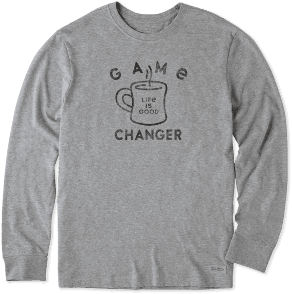 Men's Game Changer Long Sleeve Crusher Tee