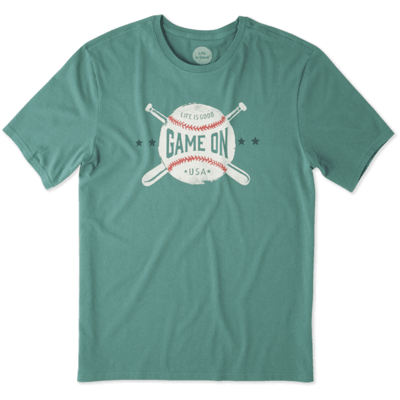a8282438 Men's Game On Baseball Smooth Tee