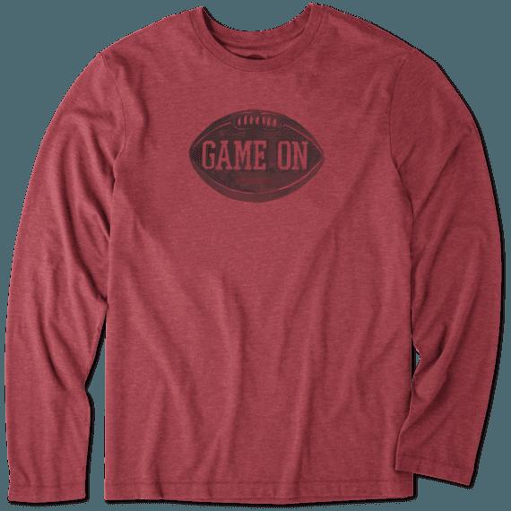 Men's Game On Long Sleeve Cool Tee