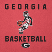 Men's Georgia Bulldogs Jake Athlete Long Sleeve Cool Tee