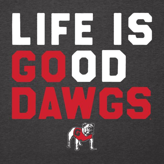 Men's Georgia Bulldogs LIG Go Team Long Sleeve Cool Tee