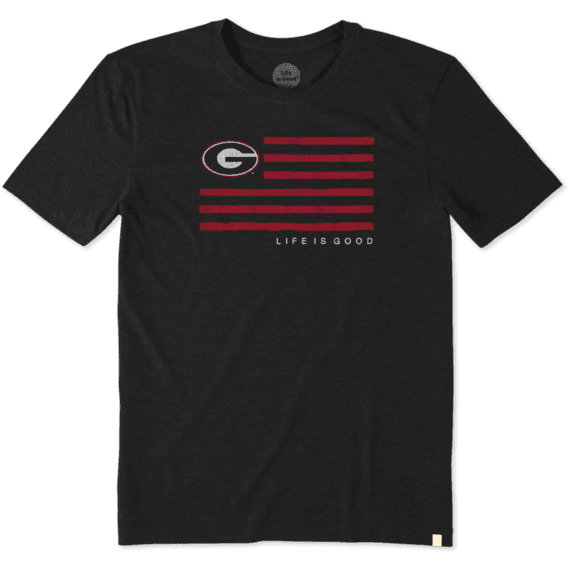 Men's Georgia Flag Cool Tee