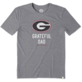 Men's Georgia Grateful Dad Cool Tee