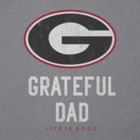 Men's Georgia Grateful Dad Cool Tee
