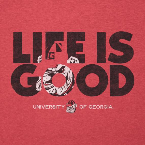 Men's Georgia Life is Good Cool Tee