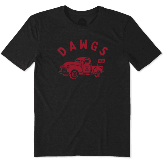 Men's Georgia Vintage Truck Cool Tee