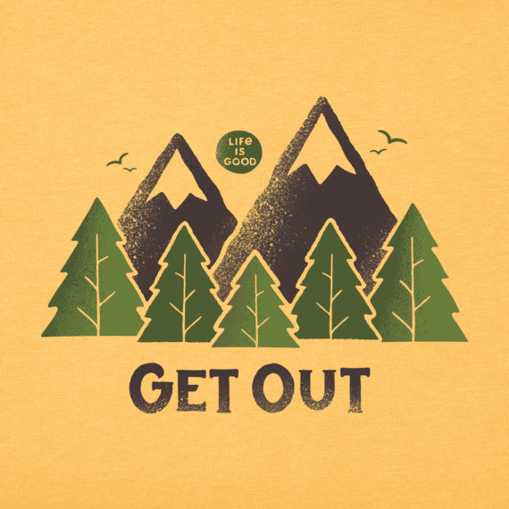 Men's Get Out Crusher Tee
