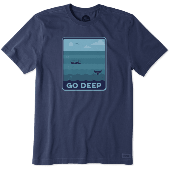 Men's Go Deep Crusher Tee