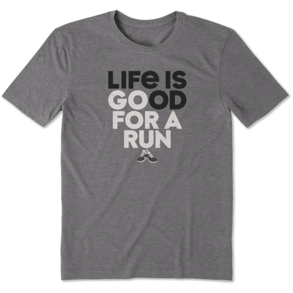 Men's Go For A Run Cool Tee