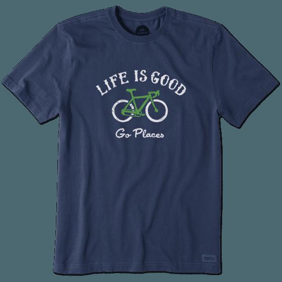 Men's Go Places Bike Crusher Tee