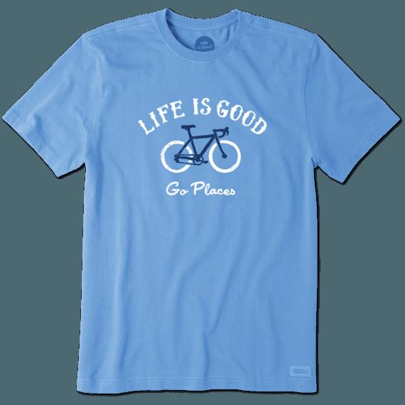 Life is Good Boys Crusher Tee Go Places Bike Life is Good Kids