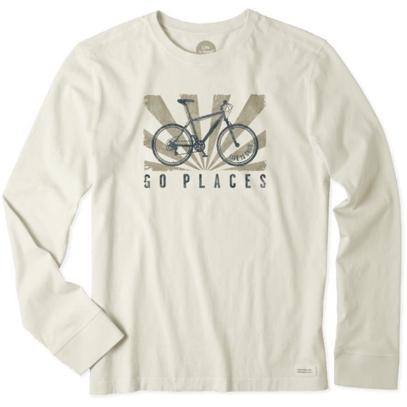 Images. Men s Go Places Bike Long Sleeve Crusher Tee e325e3185