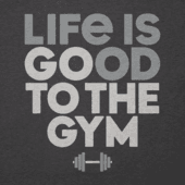 Men's Go To The Gym Cool Tee