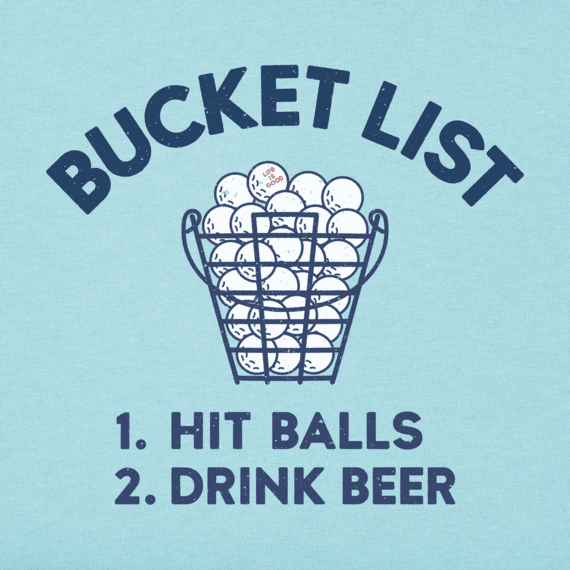Men's Golf Bucket List Crusher Tee