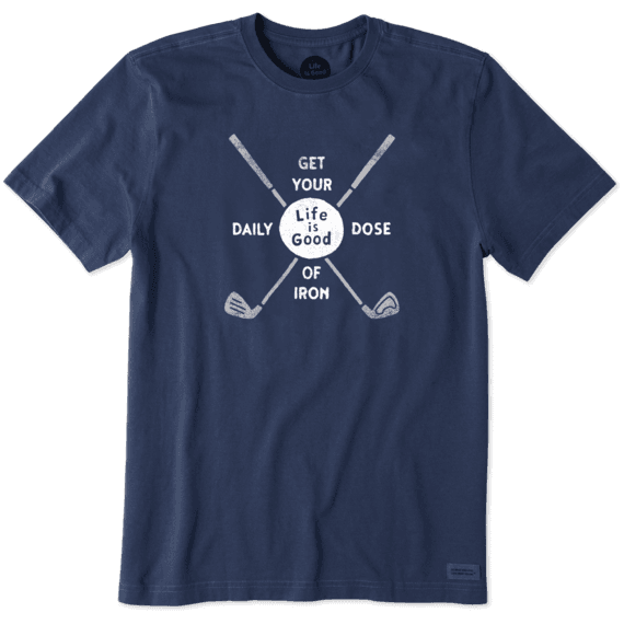 Men's Golf Daily Dose Crusher Tee