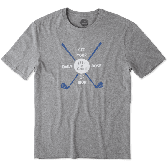 Men's Golf Daily Dose Smooth Tee