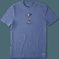 Men's Golf Jake Vintage Crusher Tee
