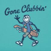 Men's Gone Clubbin Crusher Tee