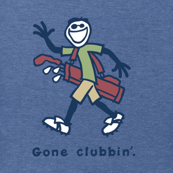 Men's Gone Clubbin Jake Vintage Crusher Tee
