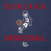 Men's Gonzaga Bulldogs Athlete Jake Long Sleeve Cool Tee