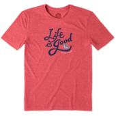 Men's Gonzaga Bulldogs Flourish Lig Cool Tee