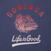 Men's Gonzaga Bulldogs Gradient Tailwhip Cool Tee