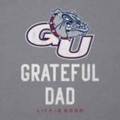 Men's Gonzaga Grateful Dad Cool Tee