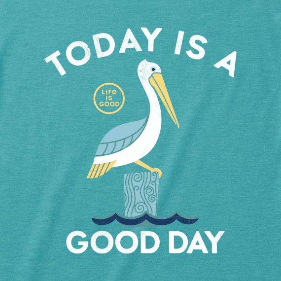 Men's Good Day Pelican Cool Tee