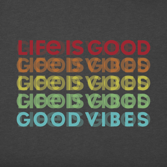 Men's Good Vibes Lifesaver Cool Tee