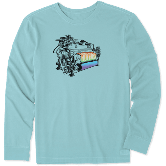 Men's Good Vibes Machine Long Sleeve Crusher Tee