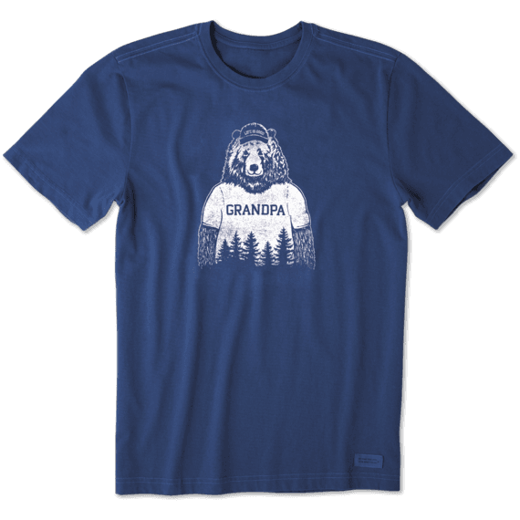 Men's Grandpa Bear Crusher Tee
