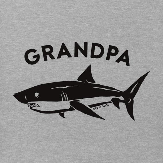 Men's Grandpa Shark Crusher Tee