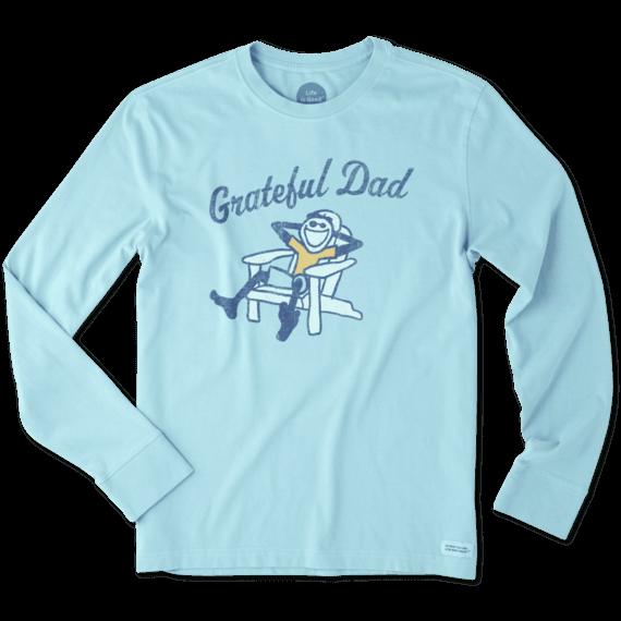 cd0161e1 Images. Men's Grateful Dad Adirondack Long Sleeve Crusher Tee