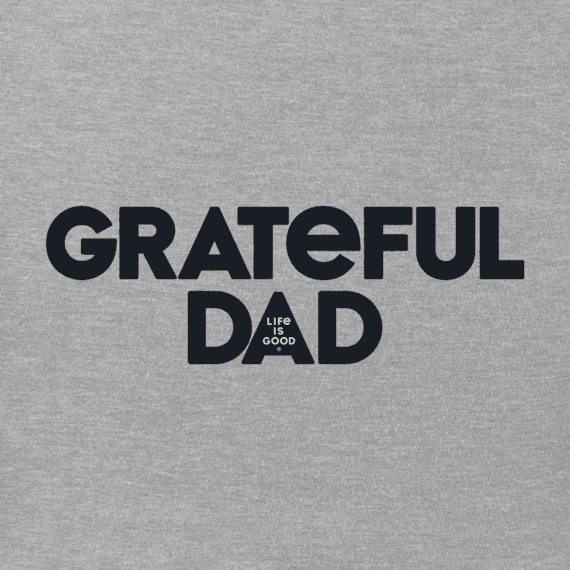 Men's Grateful Dad Crusher Tee