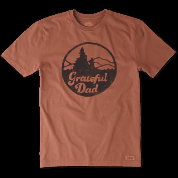 Men's Grateful Dad Mountains Crusher Tee
